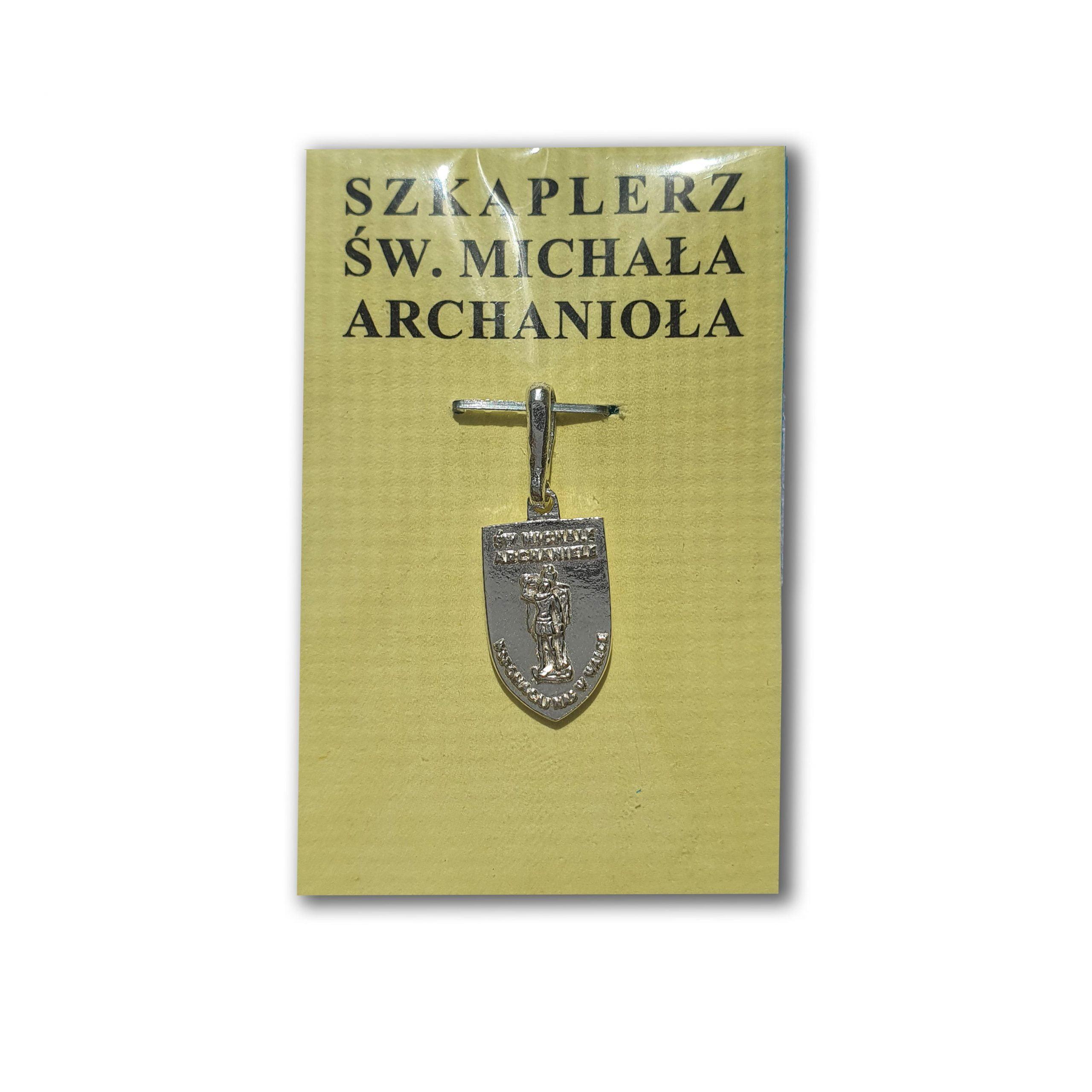 Medalik szkaplerzny św. Michała Archanioła