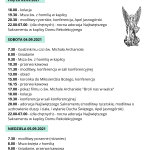 Program Anielskich Rekolekcji w Rycerce Górnej